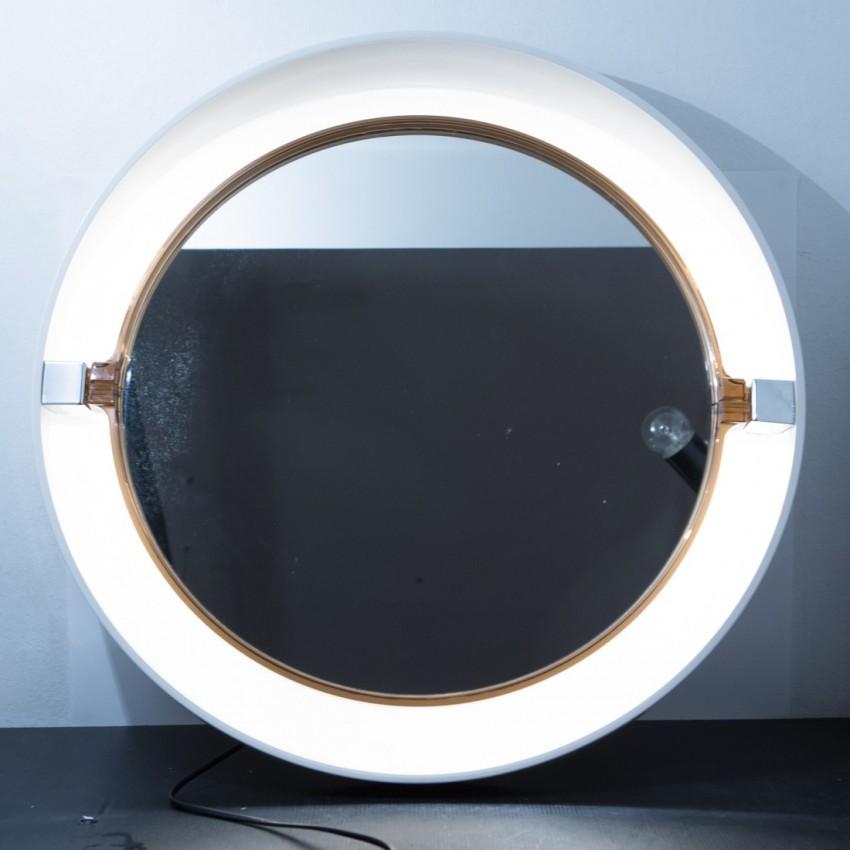 Miroir lumineux vintage