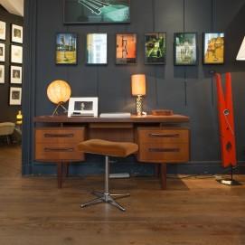 Lampe de bureau en bronze