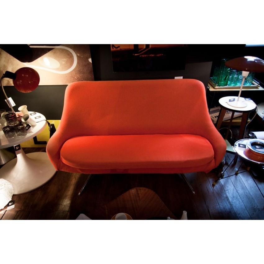 Canapé vintage orange