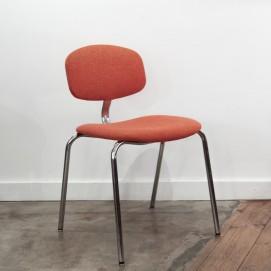 Chaise Strafor orange vintage