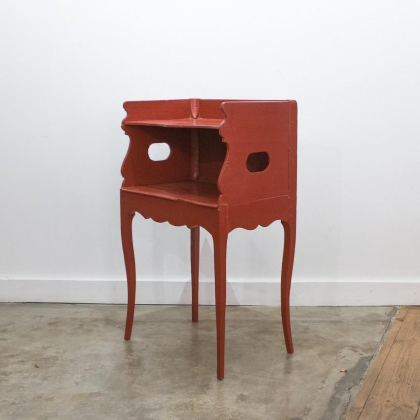 Table de nuit/console Art nouveau