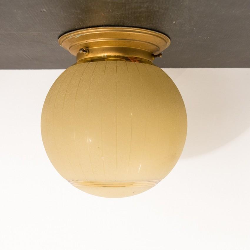 Plafonnier/lampe à poser Art déco
