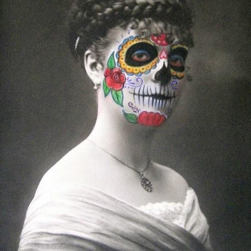 MaThiLdE LeMoNNieR - Dia de los muertos (diptyque)