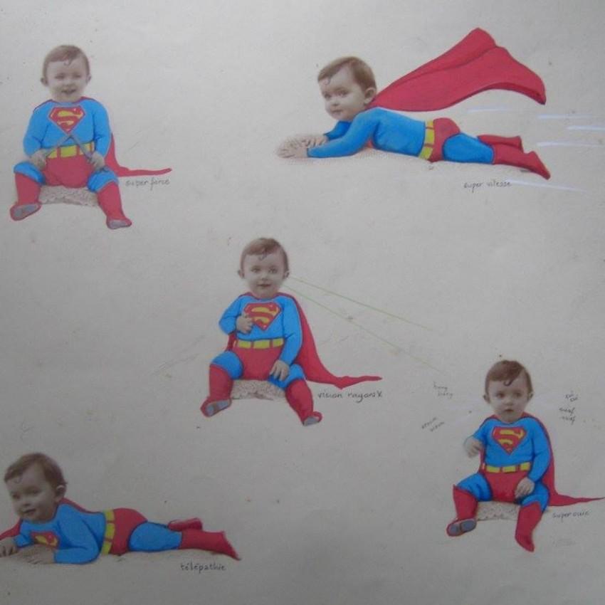 Les superpouvoirs de bébé Superman
