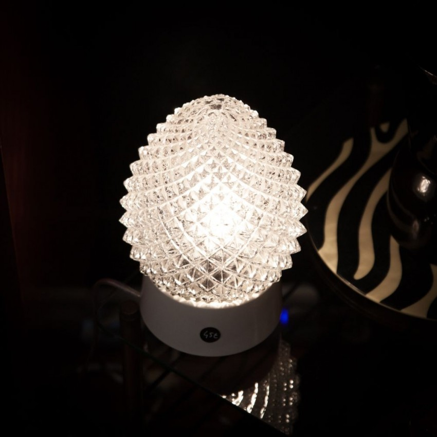 Lampe pomme de pin