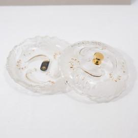 Bonbonnière en cristal Art déco