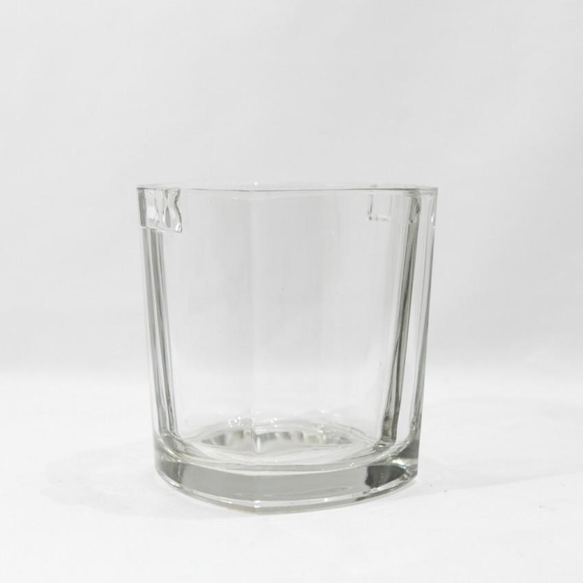Seau à glace vintage en verre