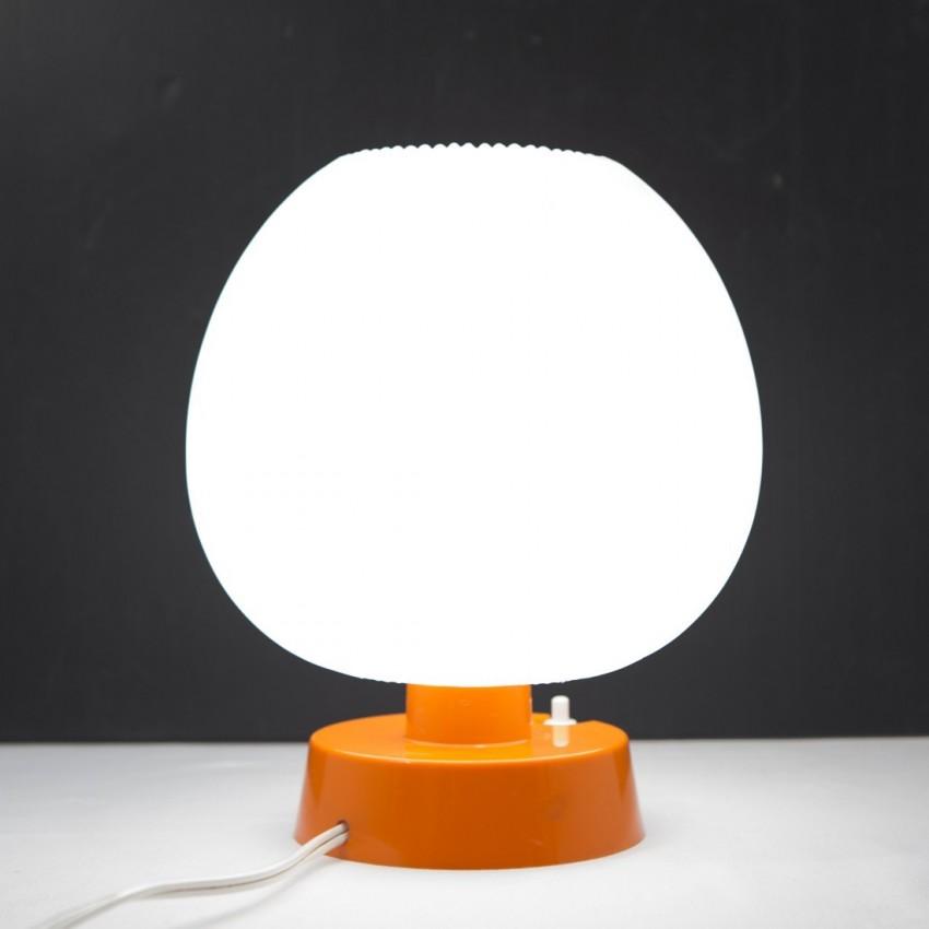 Lampe de chevet orange