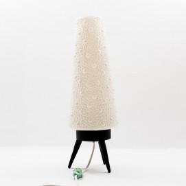 Lampe fusée tripode en plastique