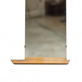 grand miroir avec tablette. Black Bedroom Furniture Sets. Home Design Ideas