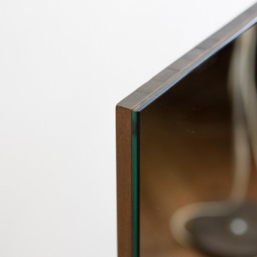 Grand miroir avec tablette for Miroir tablette