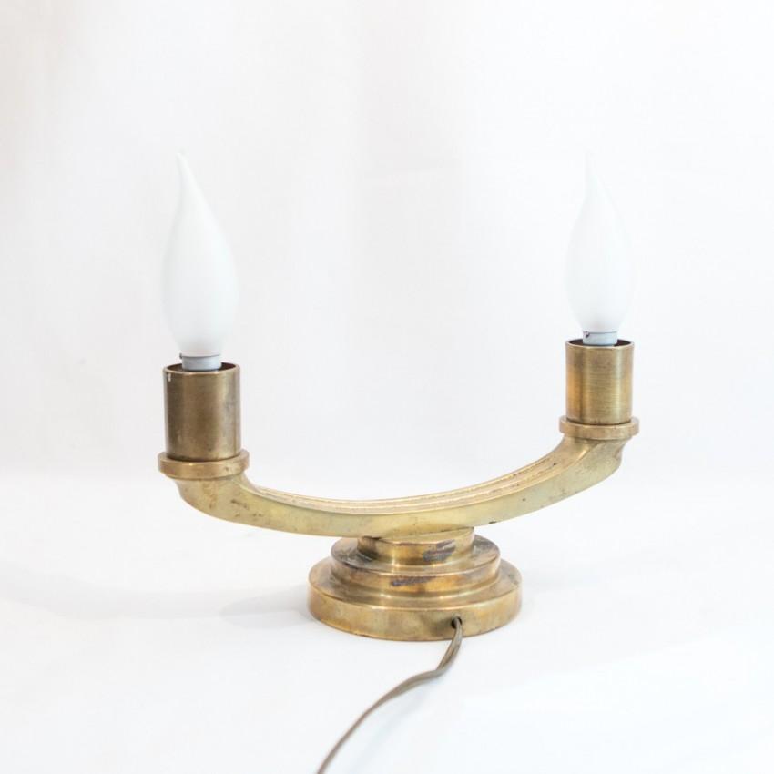 lampe art d co en bronze. Black Bedroom Furniture Sets. Home Design Ideas