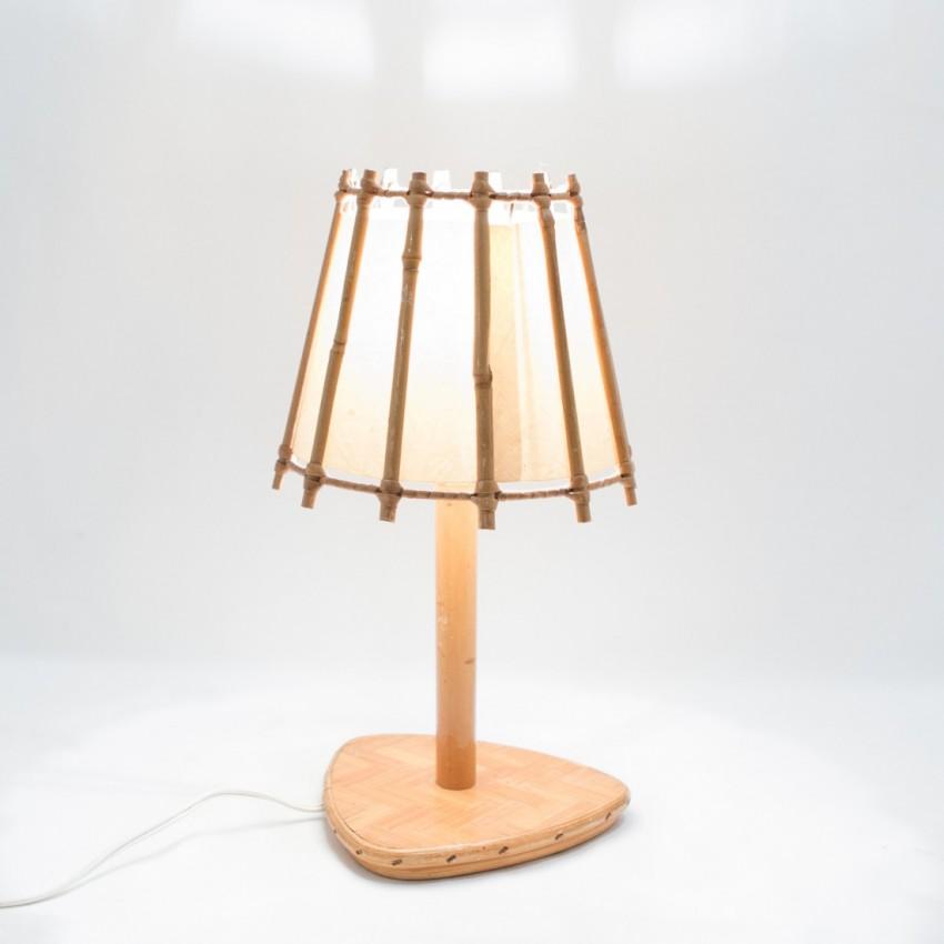 Lampe de bureau en bois conceptions de maison - Lampe de bureau bois ...