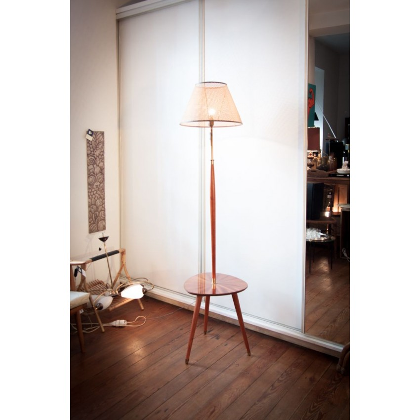 Lampadaire  tablette