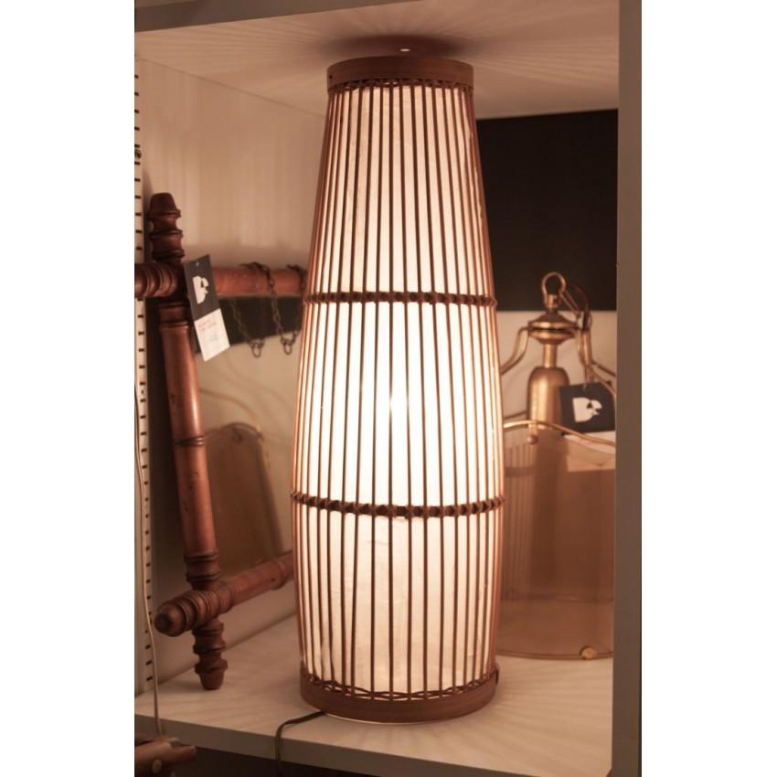 Lampe rotin