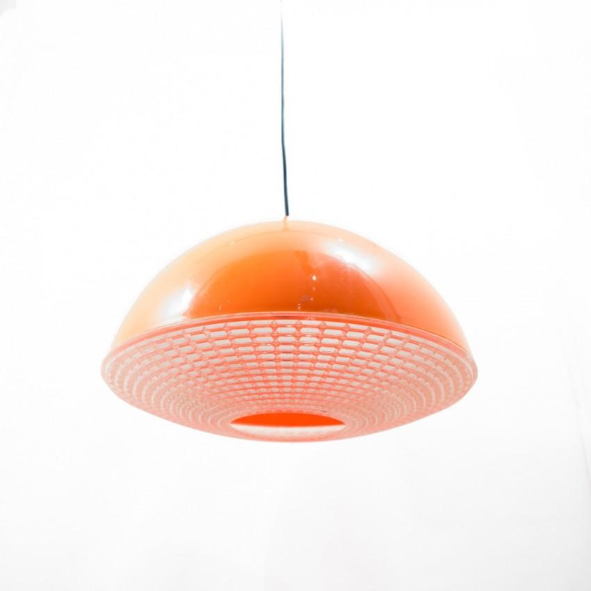 suspension ou applique translucide orange. Black Bedroom Furniture Sets. Home Design Ideas