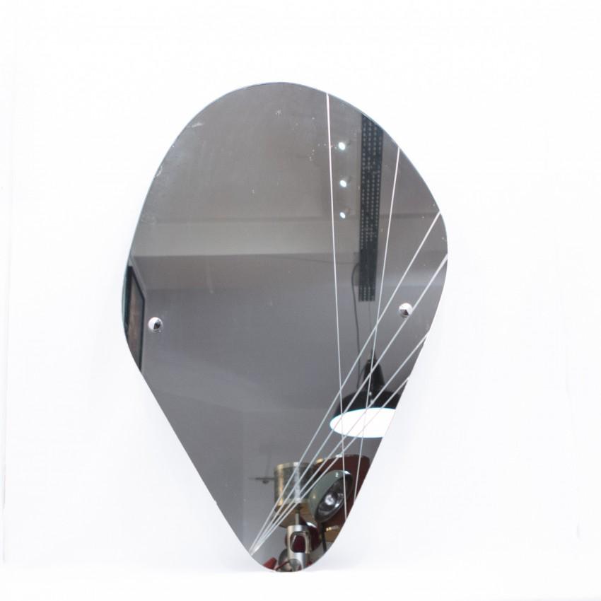 Miroir art d co for Argenture miroir