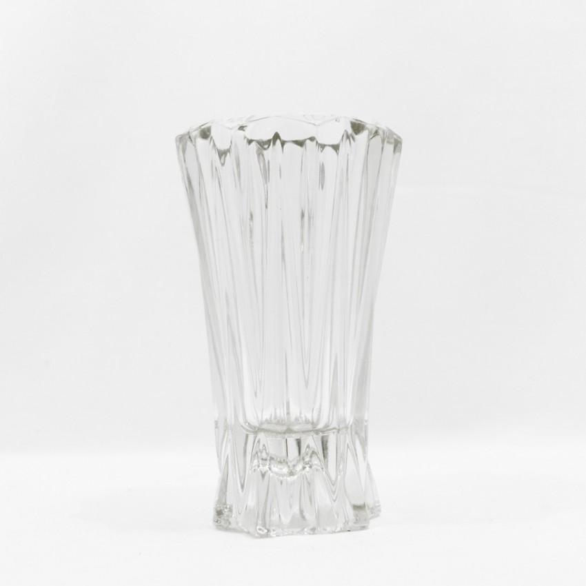 Vase en cristal vintage