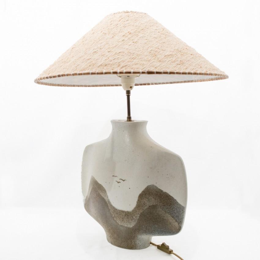 Lampe à poser en céramique