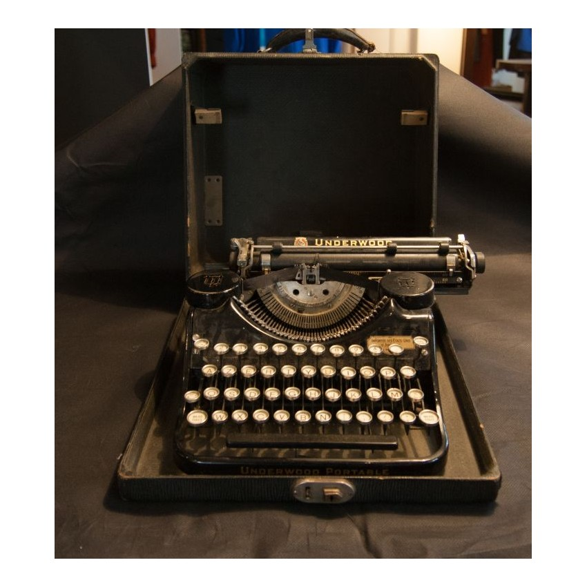 Machine crire transportable underwood - Machine a ecrire underwood ...