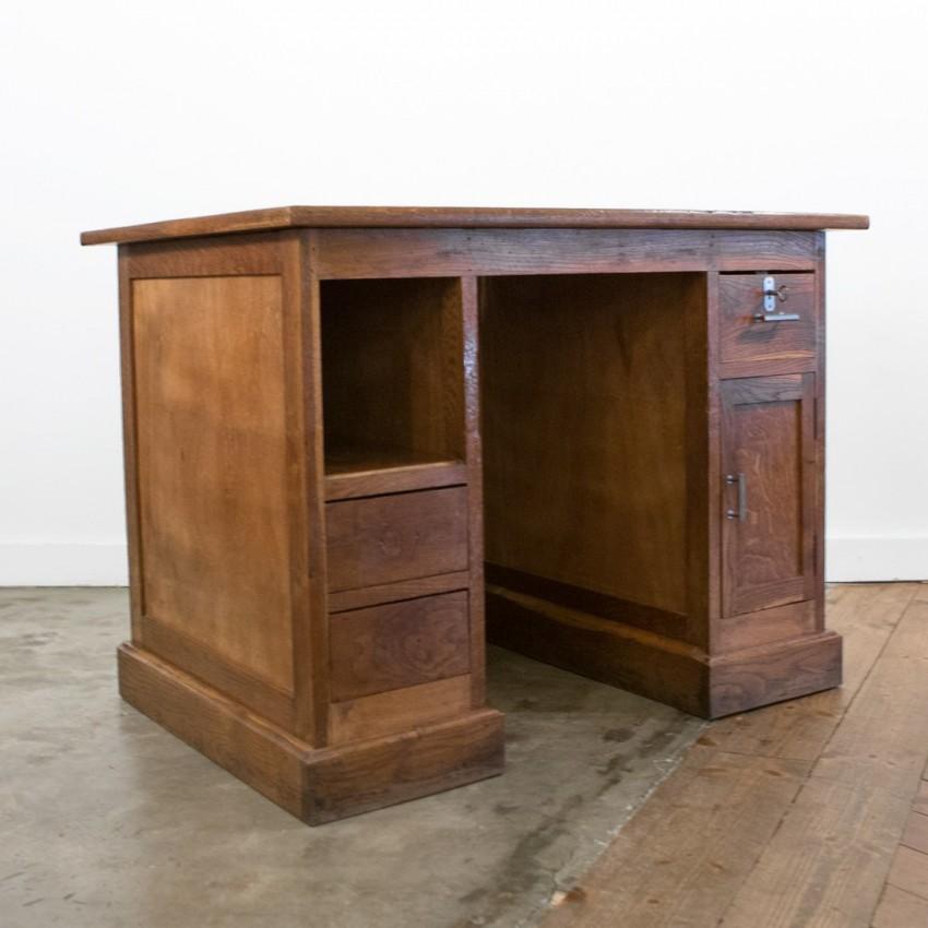 Bureau Art déco en bois