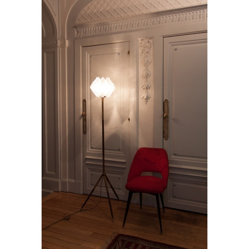 Lampadaire pied tripode