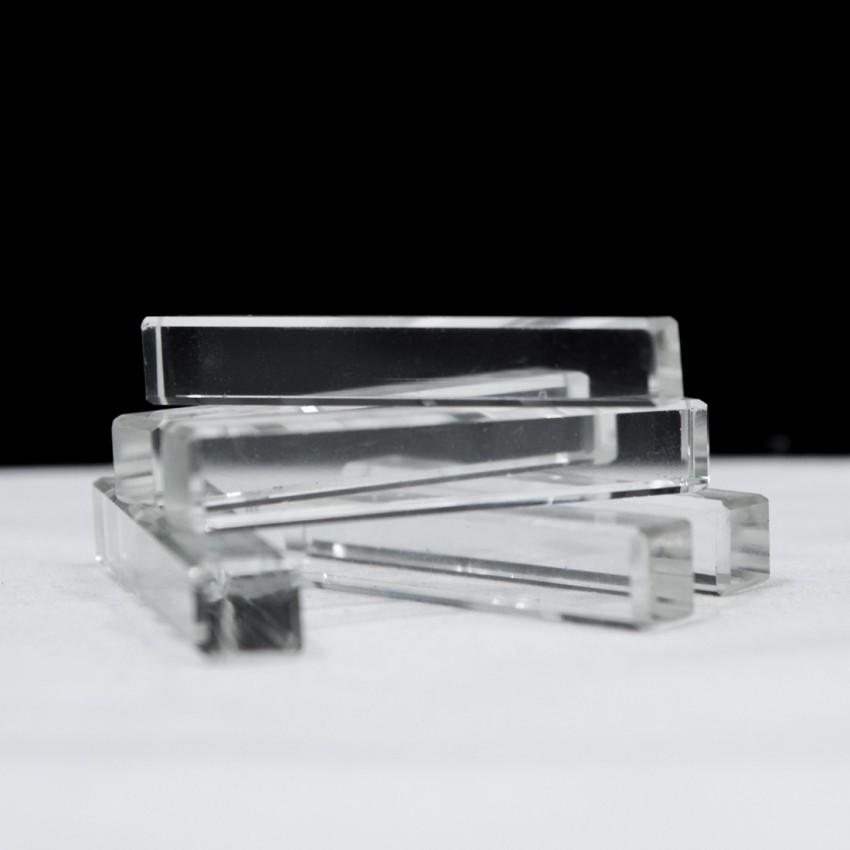 Porte-couteaux vintage en verre