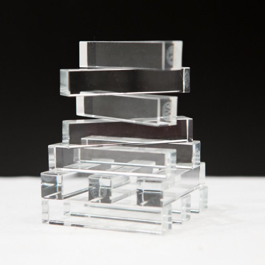 Porte-couteaux en cristal de Baccarat