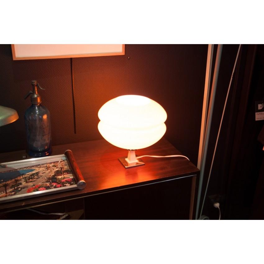 Lampe opaline orange