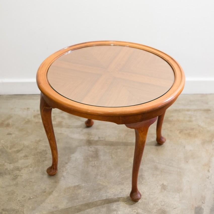 Table basse Art nouveau en merisier - Mérigot