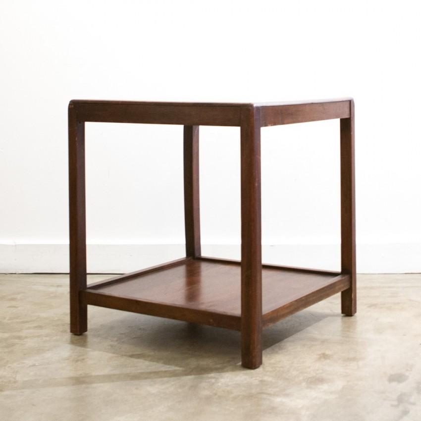 Table basse à deux plateaux - 1950