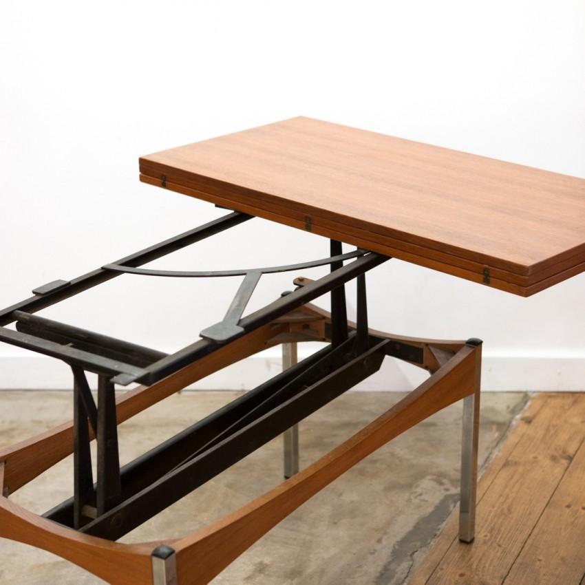 table modulable jer. Black Bedroom Furniture Sets. Home Design Ideas
