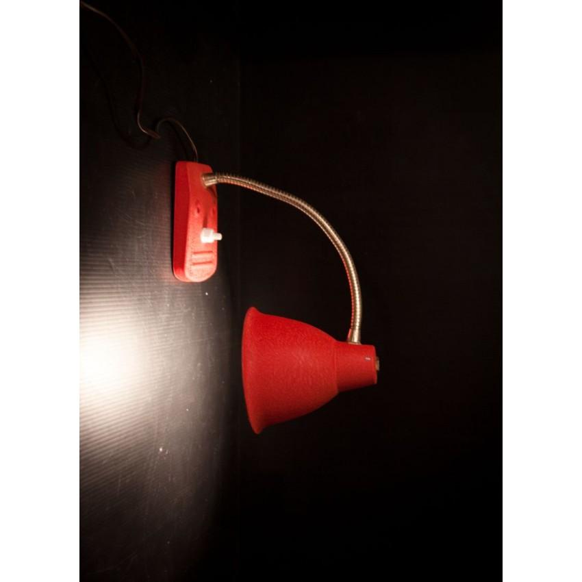 Lampe Aluminor rouge