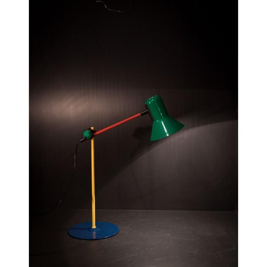 lampe de bureau multicolore veneta lumi italie. Black Bedroom Furniture Sets. Home Design Ideas