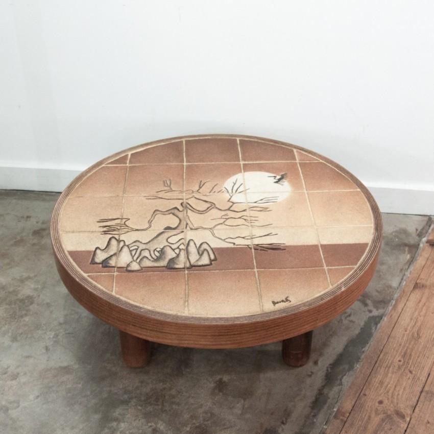 Table basse barrois - Tres grande table basse ...