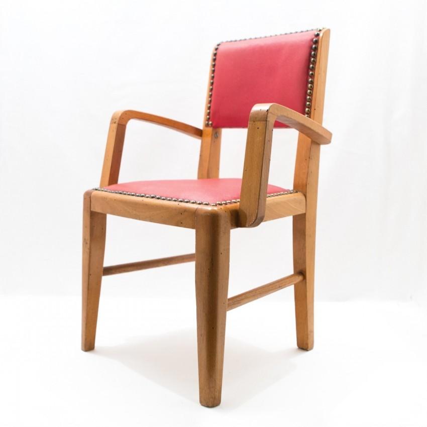 fauteuil enfant en bois et ska. Black Bedroom Furniture Sets. Home Design Ideas