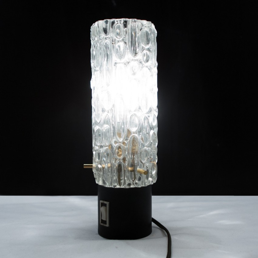 Lampe cylindrique mobile