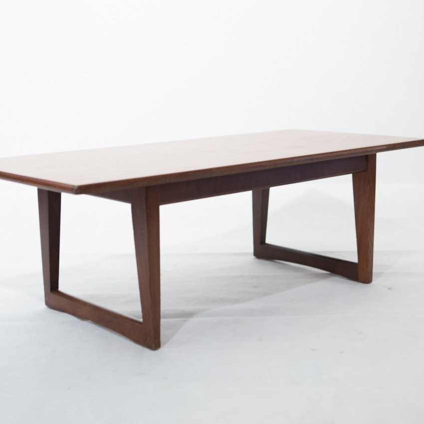 Table basse scandinave en teck for Table basse scandinave but