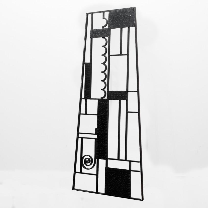 Grille de porte d 39 entr e art d co for Deco porte entree