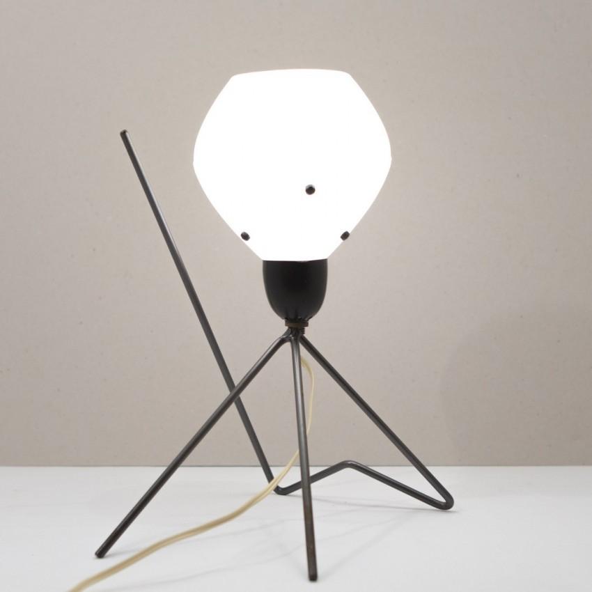 Lampe de chevet en m tal et r sine - Lampe de chevet metal ...
