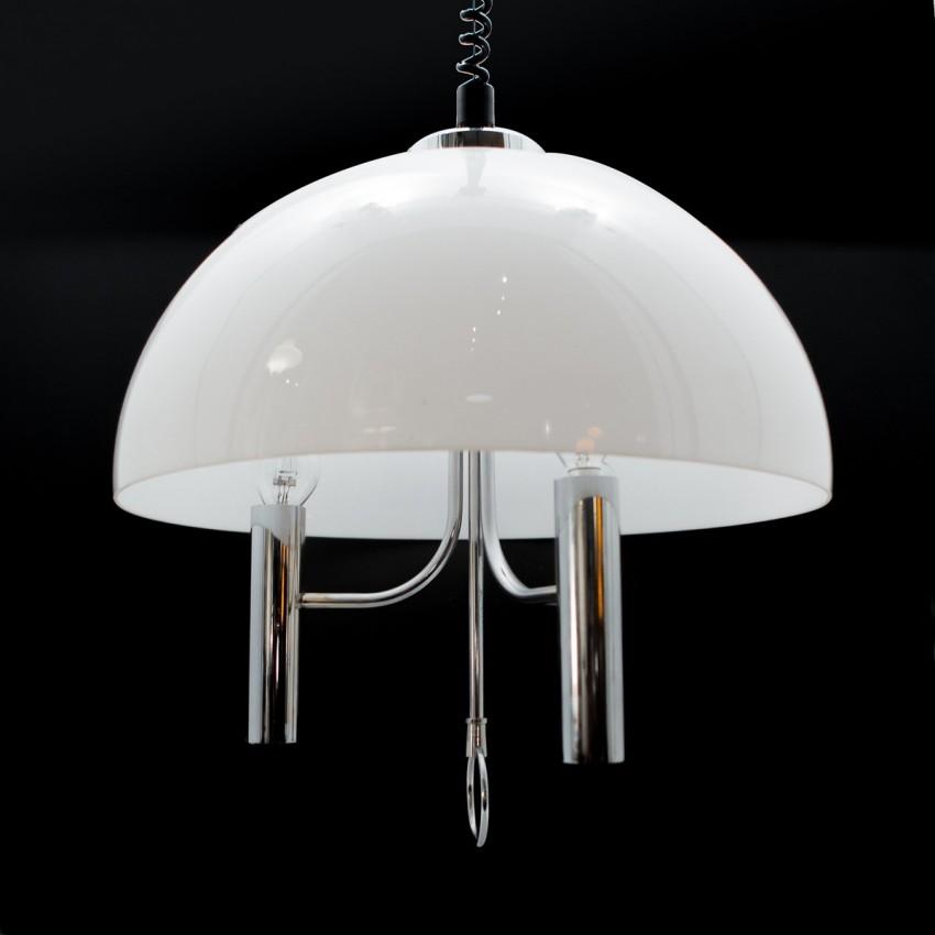 suspension chrome et r sine. Black Bedroom Furniture Sets. Home Design Ideas