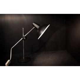 Lampe de bureau noire