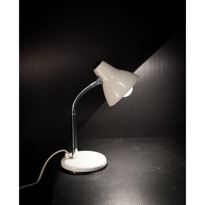 Lampe de chevet blanche for Lampe de bureau blanche
