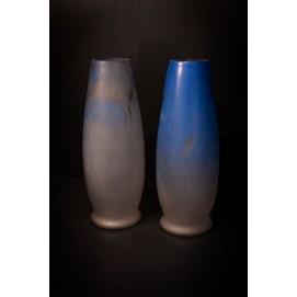 Paire de vases peints