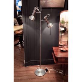 Lampadaire double projecteur