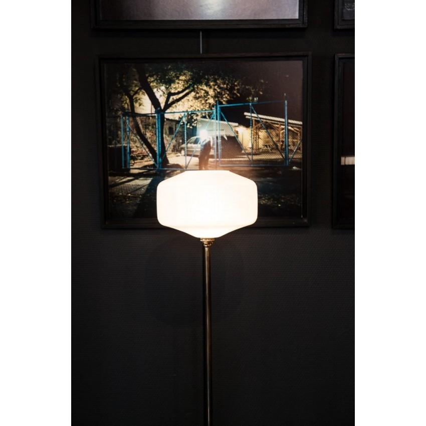 lampe sur pied fer opaline. Black Bedroom Furniture Sets. Home Design Ideas