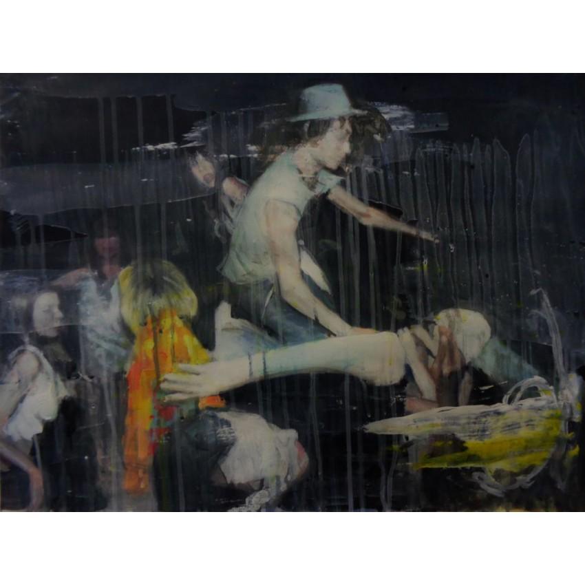 Fièvres nocturnes - Xavier Jambon - DODA - Galerie d'art en ligne