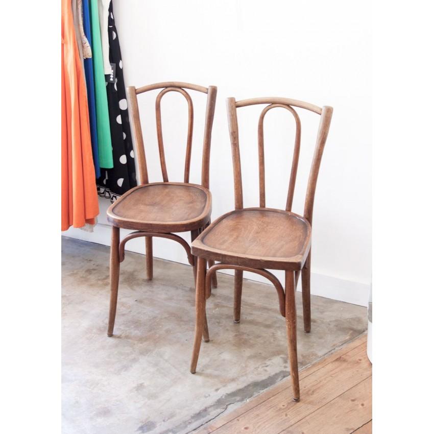 Paire de chaises Baumann
