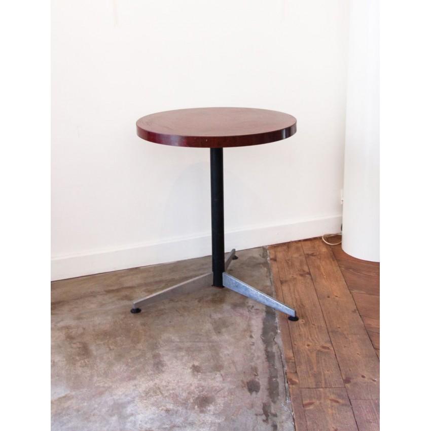 table bistrot vintage. Black Bedroom Furniture Sets. Home Design Ideas