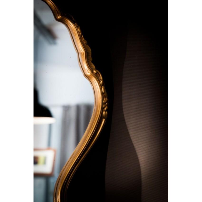 Miroir vintage doré